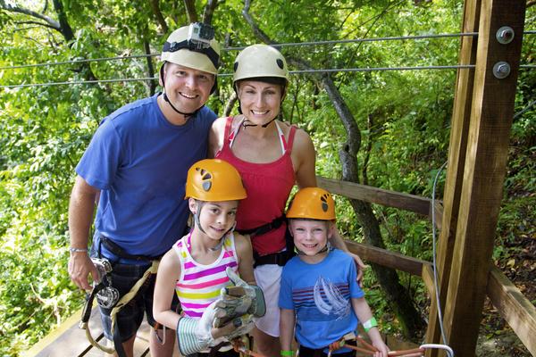 Family Vacation Group photo Stock Photo