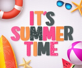 Fashion summer holiday background template vector 07