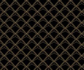 Golden lines seamless pattern vector 01