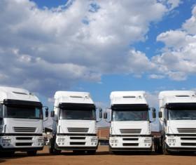 Heavy duty truck Stock Photo