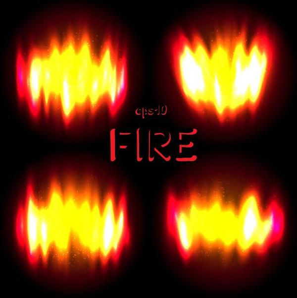 Highlight fire flame illustration vector
