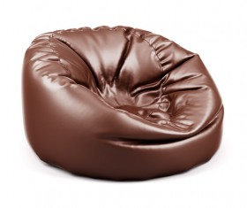 Inflatable chair Stock Photo