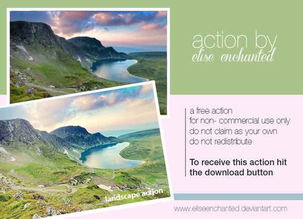 Landscape Photoshop Actions