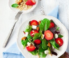Nutrition slimming salad Stock Photo 02