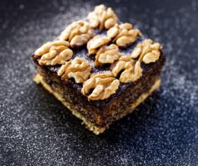 Nutty chocolate dessert Stock Photo 06