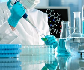 People working in the laboratory Stock Photo 04