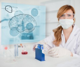 People working in the laboratory Stock Photo 09