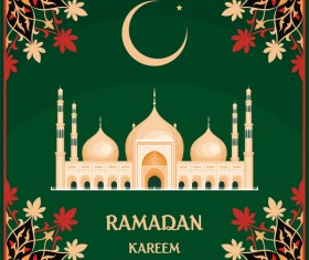 Ramadan kareem festival vector background