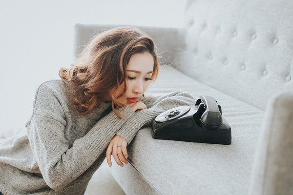 Image result for waiting by the phone