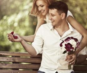 Romantic marriage proposal Stock Photo 02