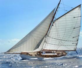 Sailboat race Stock Photo 06