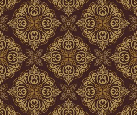 Seamless luxurious wallpaper vector 01