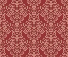 Seamless luxurious wallpaper vector 02