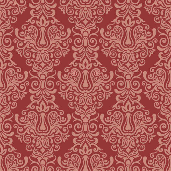 Seamless luxurious wallpaper vector 02
