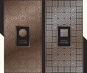 Seamless pattern luxury concept vector 01