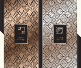 Seamless pattern luxury concept vector 02