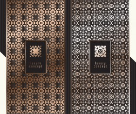 Seamless pattern luxury concept vector 03