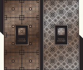 Seamless pattern luxury concept vector 05