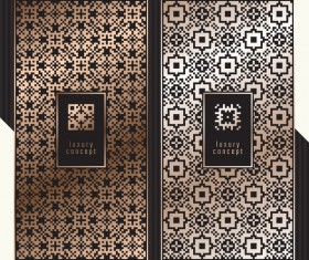 Seamless pattern luxury concept vector 06