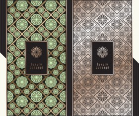 Seamless pattern luxury concept vector 07