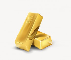Shiny gold bar vector illustration 05