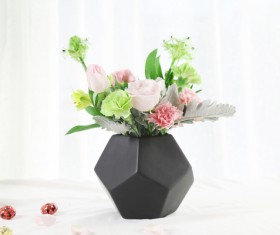 Simple and beautiful flower arrangement Stock Photo