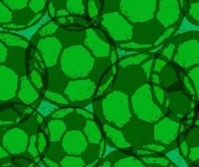 Soccer green grunge background vector