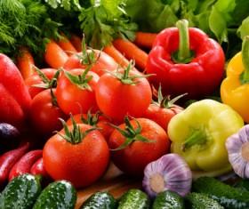 Summer fresh organic vegetables fruits Stock Photo 05