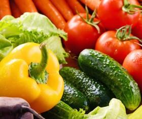 Summer fresh organic vegetables fruits Stock Photo 07