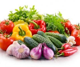 Summer fresh organic vegetables fruits Stock Photo 13