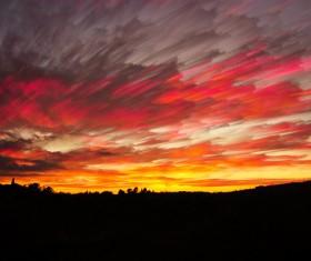 Sunrise and sunset beautiful natural landscape Stock Photo 15
