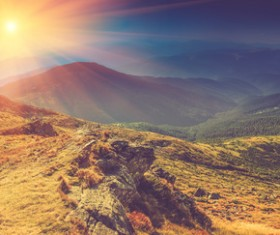 Sunrise and sunset beautiful natural landscape Stock Photo 21