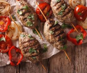 Turkish BBQ Stock Photo 02