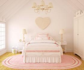 Unique childrens bedroom Stock Photo 01