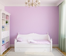 Unique childrens bedroom Stock Photo 02