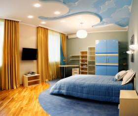 Unique childrens bedroom Stock Photo 03