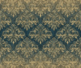 Vintage pattern in Victorian style vector