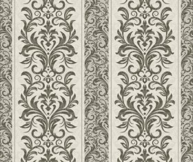 Vintage seamless background. Seamless wallpaper vector 02