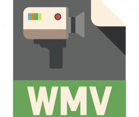 WMV Flat Icon