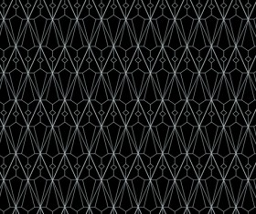 White lines seamless pattern vector 02