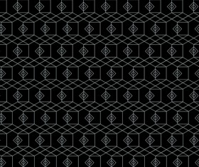 White lines seamless pattern vector 04