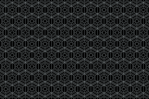 White lines seamless pattern vector 05