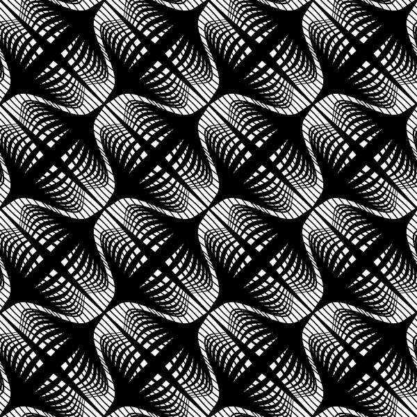 White with black seamless pattern abstract vector 01