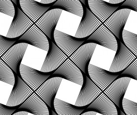 White with black seamless pattern abstract vector 03