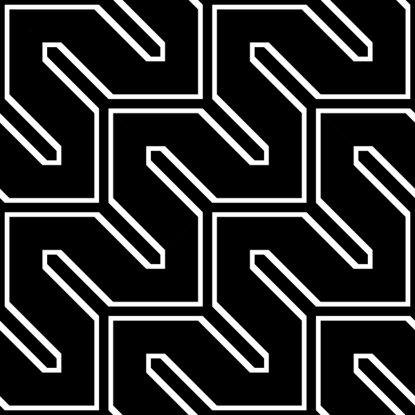 White with black seamless pattern abstract vector 04