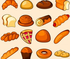 bread food vector material