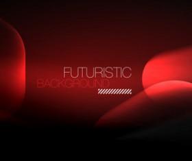 futuristic background vector template 02