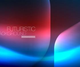 futuristic background vector template 03