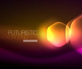 futuristic background vector template 04