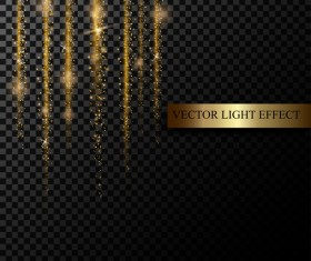 light curtain illustration vector material 01